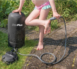 Duș mobil cu pompă de picior Pro Plus