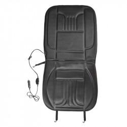 Husa de scaune auto cu incalzire, 12V, 2 trepte de temperatura, fixare cu chingi elastice