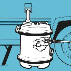 """Tanc de apa mobil """"Aquaroll"""" 40l"""