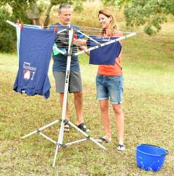 Uscător de rufe maxi pentru camping