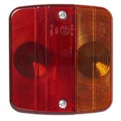 Lampa stop 4 functii, 98 x 104 mm patrata fara becuri