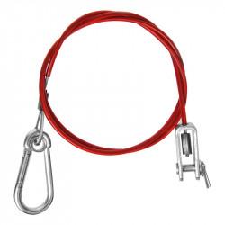 Cablu de siguranta Clevis 1m