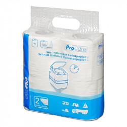 """Hârtie igienică solubilă """"Pro Plus"""" pentru toalete ecologice sau mobile"""