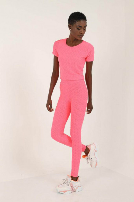 Set Fitness 3d Pink