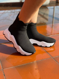 Adidasi Beth Black&White