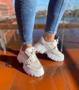 Adidasi Alma White