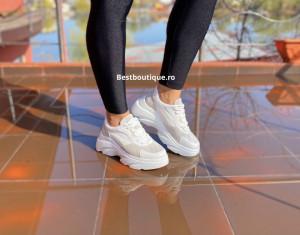 Adidasi Kate white