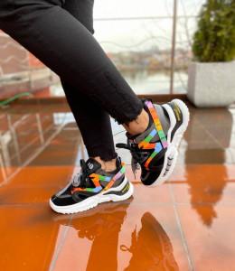 Adidasi ABO Black/Color