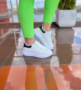 Adidasi Adelle white&black