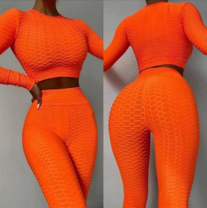 Set Fitness Orange 3d