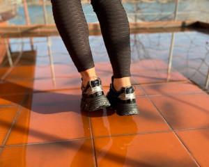 Adidasi Carly Black