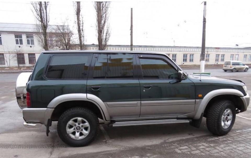 Chuventos Nissan Patrol Y61