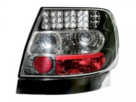 Imagens Farolins pretos Audi A4 B5 Sedan em LED