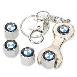 Tampas de valvulas + porta-chaves BMW