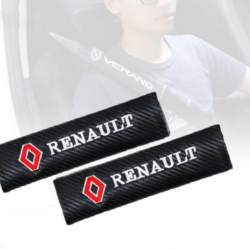 Imagens Almofadas de Cintos Renault Carbono