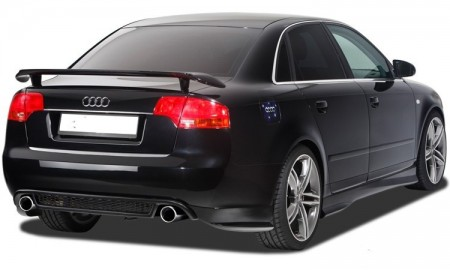 Difusor + Splitters Traseiros Audi A4 B7 RS4