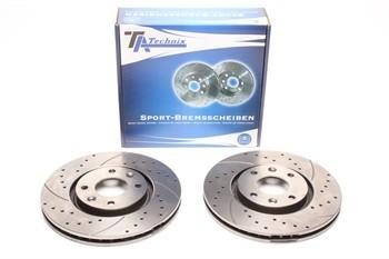 Imagens Discos Ta-Technix Perfurados + Ranhurados + Ventilados Peugeot 308 Sw 283mm