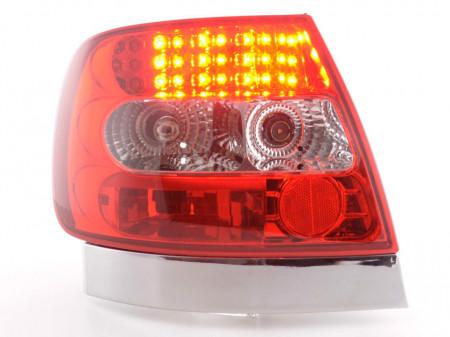 Imagens Farolins Audi A4 B5 Sedan LED claros /vermelhos