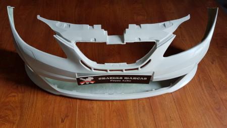 Para-choques Seat Ibiza 6J Boca Negra em fibra