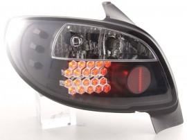 Farolins Peugeot 206 pretos