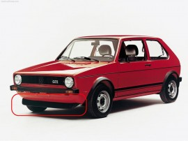 Lip frontal Golf I e Golf II