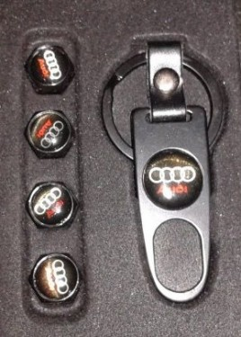 Tampas de valvulas + porta-chaves Audi