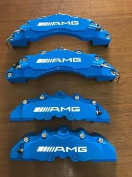 Imagens Capas de Travão Mercedes AMG azuis