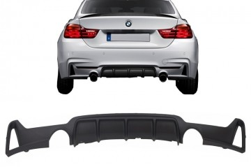 Difusor BMW F32 F33 F36 (2013-) Coupe Cabrio 4 Series M Performance