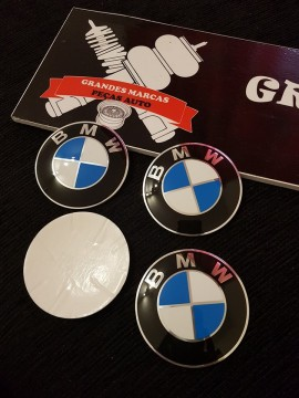 Imagens Símbolos de Jantes BMW 3D 60mm