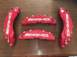 Imagens Capas de Travão Mercedes AMG vermelhas
