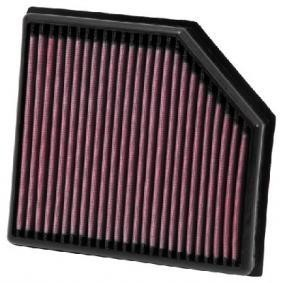Imagens Filtro de Ar K&N Volvo S602.4d OE filter 3063833 - 2001-2010