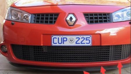 Imagens Lip de borracha universal Renault Megane 2