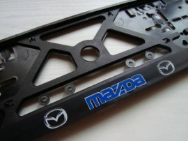 Placa de matricula Mazda