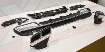 """Imagens Difusor Mercedes E-Class W212 """"E63 look"""" AMG"""
