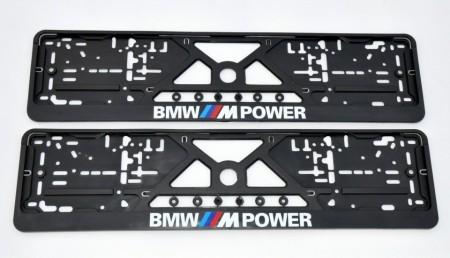 Imagens Placa de matricula BMW M Power