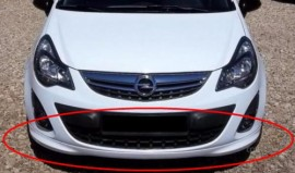 Imagens Lip/Spoiler Frontal Opel Corsa D OPC