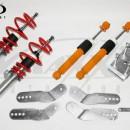 Coilovers V-Maxx Vw Caddy III 1.2 / 1.6 / 2.0 / 2.0SDi / 1.6TDi / 1.9TDi excl.DSG / 4-Motion / XENON (Ø 55mm !!) incl. Ajustador de folhas e mola traseira !! (NO GOCA)