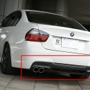 Difusor M Sport BMW E90/E91