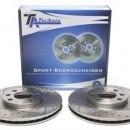 Discos perfurados e ventilados Vw Golf 5 1.9TDI
