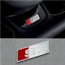 Emblema Audi S3 volante