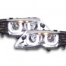 Farois Angel Eyes BMW E46 Limousine/Touring 02-05 cromados