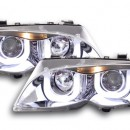 Farois Angel Eyes BMW Série 3 E46 sedan / touring Yr. 02-05 cromo