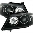 Farois Angel Eyes CCFL para BMW E90 E91 pretos