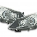Farois Angel Eyes Opel Corsa D fundo negro