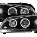 Farois Angel Eyes pretos Peugeot 106