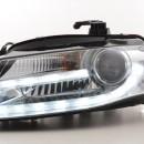 Farois  Luz diurna Audi A4 B8 cromados