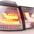 Farolins LED cromados Vw Golf 6