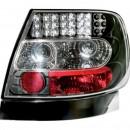 Farolins pretos Audi A4 B5 Sedan em LED