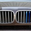 Listas da grelha BMW X5 E70 ///M em plastico