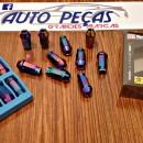 Lug Nuts D1SPEC M12x1,5 Neon Chrome